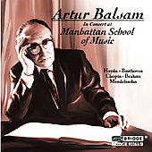 Artur Balsam in Concert at the Manhattan School of Music