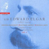Elgar: Complete Songs for Voice and Piano Vol 1 / Roocroft, Jarnot, Mees