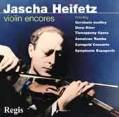 Jascha Heifetz - Violin Encores - Korngold, Lalo, Gershwin, etc