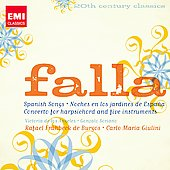 20th Century Classics - Falla: Spanish Songs, etc / Giulini, Angeles, Soriano, et al