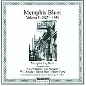 Various Artists: Memphis Blues, Volume 3: 1927-1930
