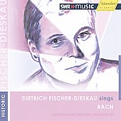 Historic - Dietrich Fischer-Dieskau sings Bach