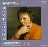 Buxtehude: Works for Organ Vol 6 / Inge Bonnerup