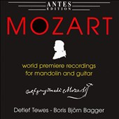 Mozart for Mandolin and Guitar
