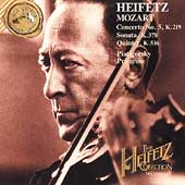 The Heifetz Collection Vol 26 - Mozart / Piatigorsky, et al