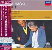 Mozart: Piano Concertos K.466 & K.491 / Haski., Markevitch.