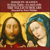 Josquin: Masses / Peter Phillips, Tallis Scholars