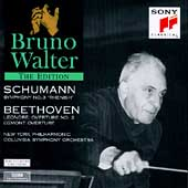 Bruno Walter Edition - Schumann: Symphony no 3;  Beethoven