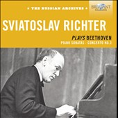 Sviatoslav Richter plays Beethoven: Sonatas nos 3, 4, 17, 18, 27, 28, 30, 31 & 32; Concerto no 3
