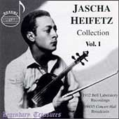 Legendary Treasures - Jascha Heifetz Collection Vol 1