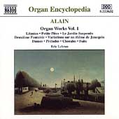 Alain: Organ Works Vol 1 / Eric Lebrun