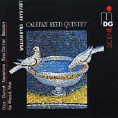 Music for winds arr. from Byrd, Pärt / Kai Wessel, alto; Calefax Reed Quintet