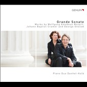 Grande Sonate - works by Mozart, Cramer and Onslow / Piano Duo Danhel-Kolb