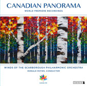 Canadian Panorama - Canadian World Premieres by Chris Meyer, Ronald Royer, Alex Eddington, John S. Gray, Jim McGrath, Alexander Rapoport, Howard Cable / Sarah Jeffrey, oboe; Gabriel Radford, horn; Kaye Royer, clarinet
