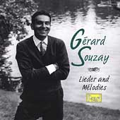 G&eacute;rard Souzay - Lieder and M&eacute;lodies