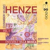 Henze: Chamber Music Vol 1 - Works for 2 Guitars