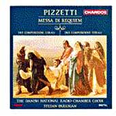 Pizzetti: Missa di Requiem, etc / Stefan Parkman