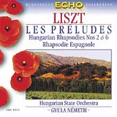 Liszt: Les pr&#233;ludes, etc / N&#233;meth, Hungarian State Orchestra