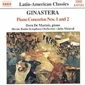 Ginastera: Piano Concertos no 1 and 2 / De Marinis, et al