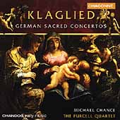Early Music - Klaglied - German Sacred Concertos / Chance