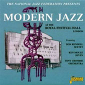 Various Artists: Modern Jazz at the Royal Festival Hall, Oct. 1954