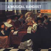 A Musical Banquet - Schein, Guami, etc/ Savall, Hesperion XX