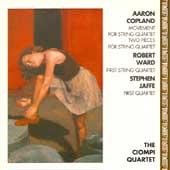 Copland: Movement, Two Pieces;  Ward, Jaffe / Ciompi Quartet