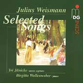 SCENE  Weismann: Selected Songs / Jänicke, Wollenweber