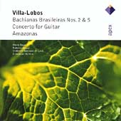 Villa-Lobos: Bachianas Brasileiras no 2 & 5 / Krivine, et al