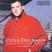 Peter Edelmann sings Duparc, Schwarz-Schilling, Strauss, etc