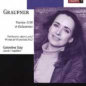 Graupner: Partitas for Harpsichord Vol 2 / Geneviève Soly