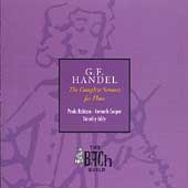 Bach Guild - Handel: Complete Flute Sonatas / Robison, et al