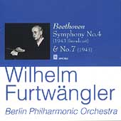 Beethoven: Symphonies no 4 & 7 / Furtw&#228;ngler, et al