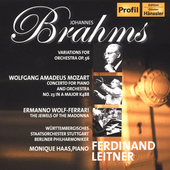 Brahms: Variations for Orchestra;  et al / Leitner, et al