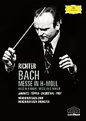 Bach: Mass in B Minor / Janowitz, Prey, Richter/Munich Bach Orch. [DVD]