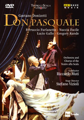 Donizetti: Don Pasquale / Muti/La Scala, Furlanetto, Focile, Gallo [DVD]