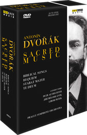 Dvorak: Sacred Music / Altrichter, Belohlavek, Pesek, Prague SO [3 DVD]