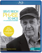 Steve Reich: Phase to Face / A Film by Eric Darmon and Franck Mallet [Blu-Ray]