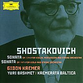 Shostakovich: Sonata for Violin, etc / Kremer, Bashmet