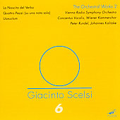 Scelsi: The Orchestral Works 2 / Kalitzke, et al