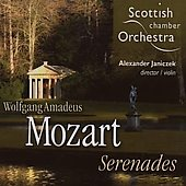 Mozart: Serenades / Janiczek, Scottish CO